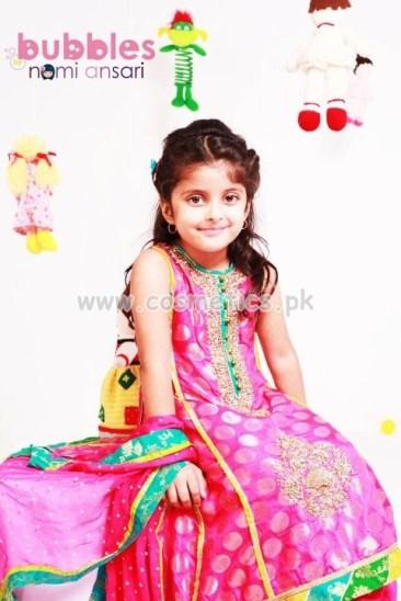 Nomi Ansari Latest Eid Dresses 2012 For Kids 007
