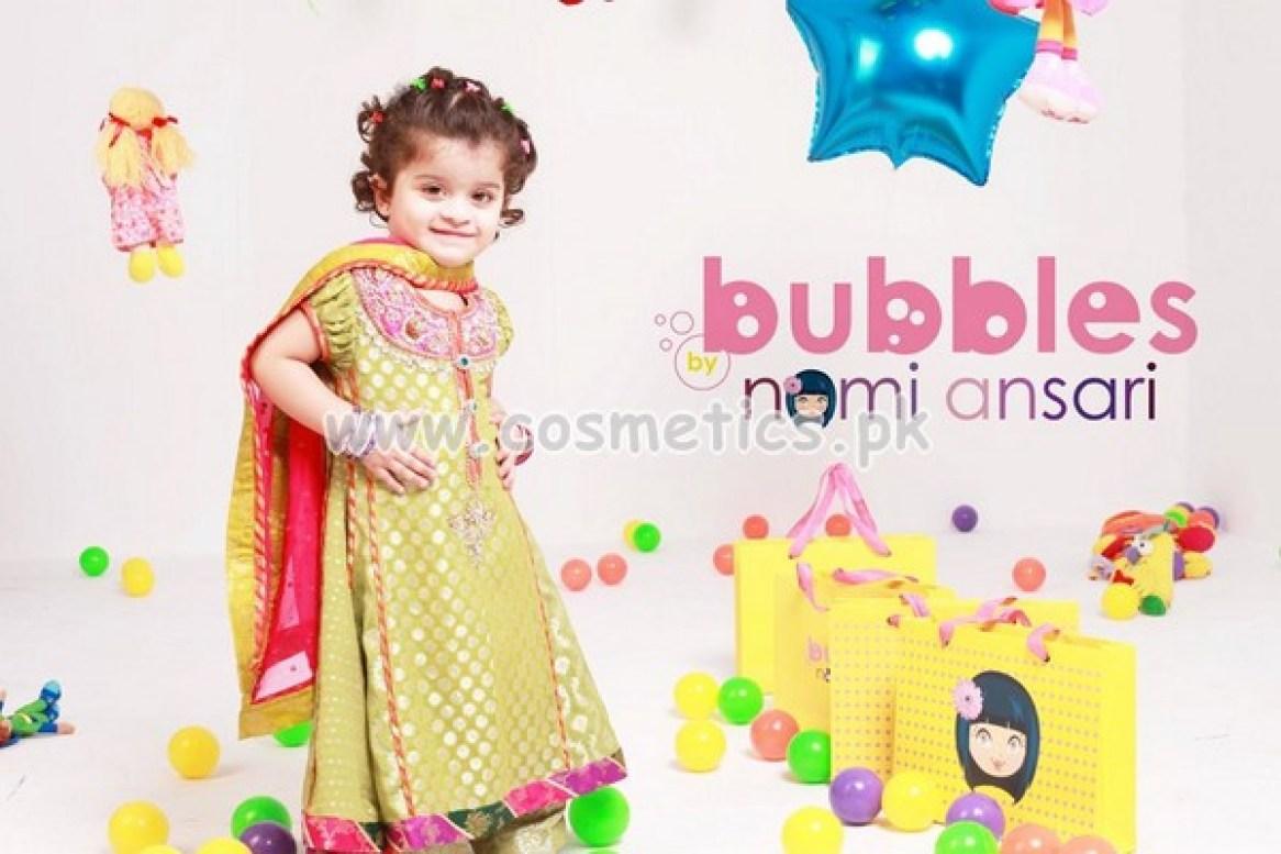 Nomi Ansari Latest Eid Dresses 2012 For Kids 008