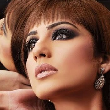 Eyes Makeup In Winter Season Pictures