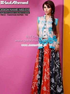 Gul Ahmed Latest Lawn Collection For Mid Summer 2012-13 009