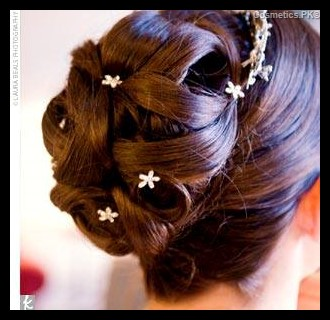 Mahrose Beauty Parlor Hairstyle For Party