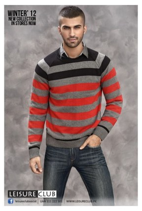 Leisure Club Casual Wear Collection 2013 For Men And Women 0017