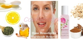 Home Remedies for Blackheads Removal