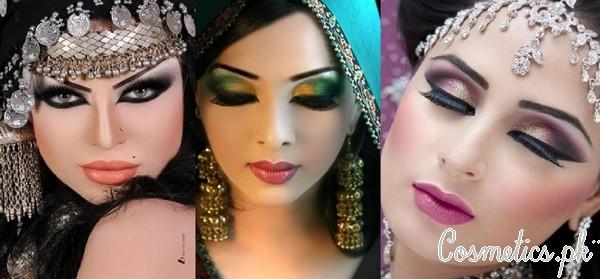Latest Pakistani Bridal Eye Makeup 2015