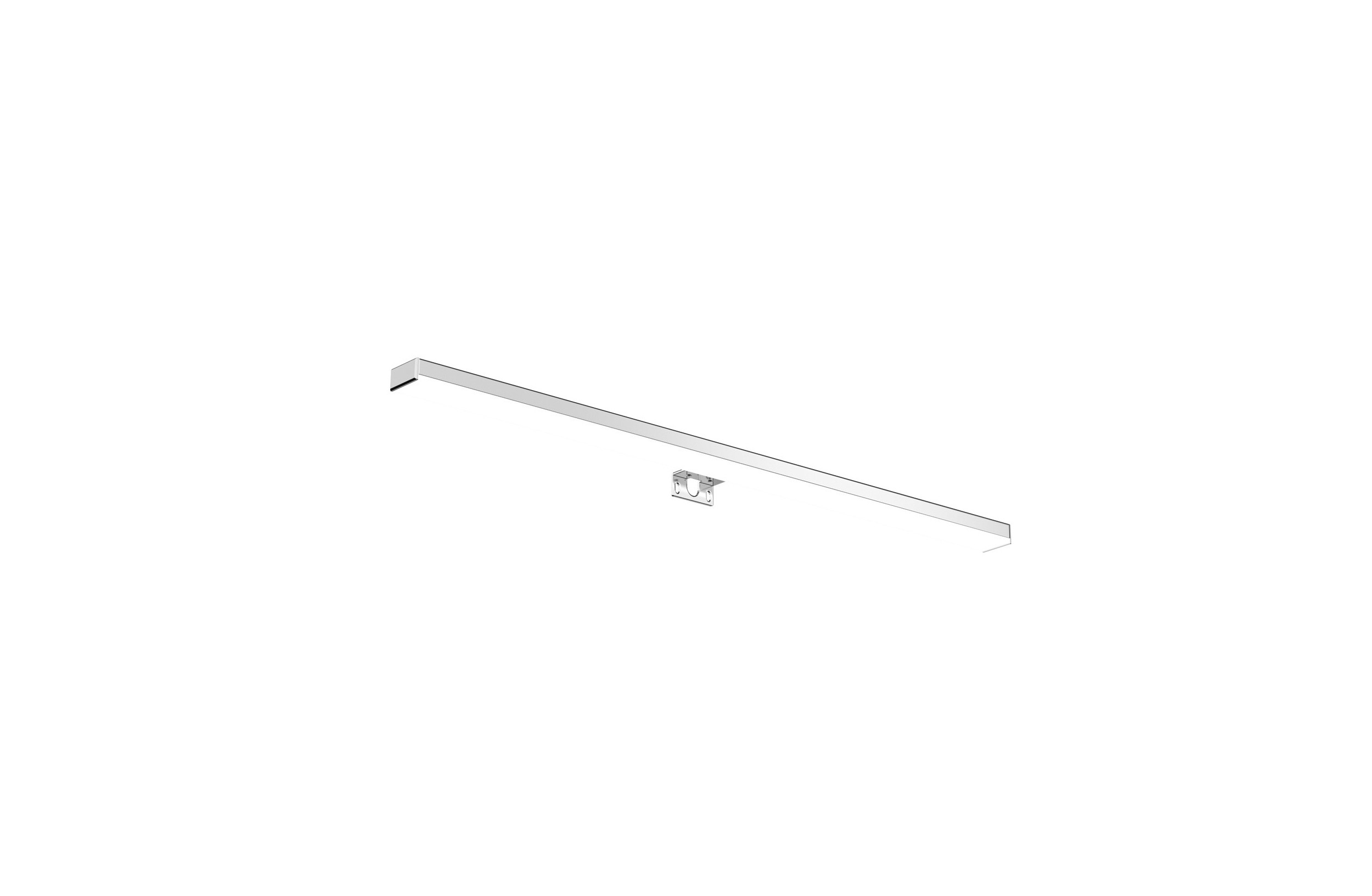 Aplique Baño Aplique Led De Pared Baño Light 50 Cm Cromo Control Remoto Cosmic