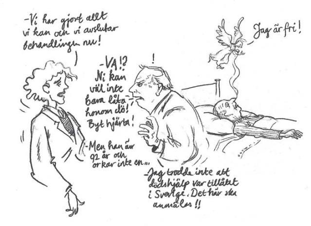 En av många talande illustrationer.
