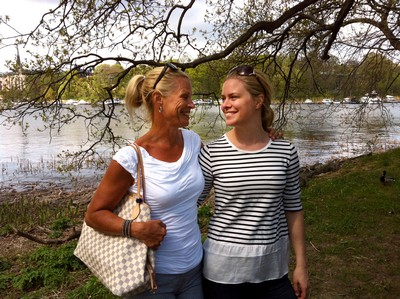 Mamma och jag <3