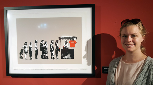 Banksy-utställning