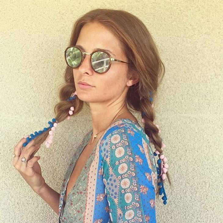 Hippie Frisur Coachella Frisuren 2016: Hippie-hair, Yeah! 9 Coole