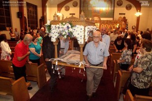 St. Demetrios holds Dormition of Theotokos Service