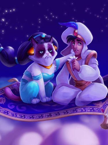 The Weeknd Quotes Wallpaper Grumpy Cat Dressed As Disney Princesses Disney Movie Art