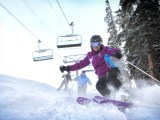 Skiiers at Copper Mountain on Jan 28, 2013