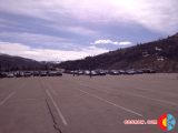 Half-empty Bear Lot  at Beaver Creek
