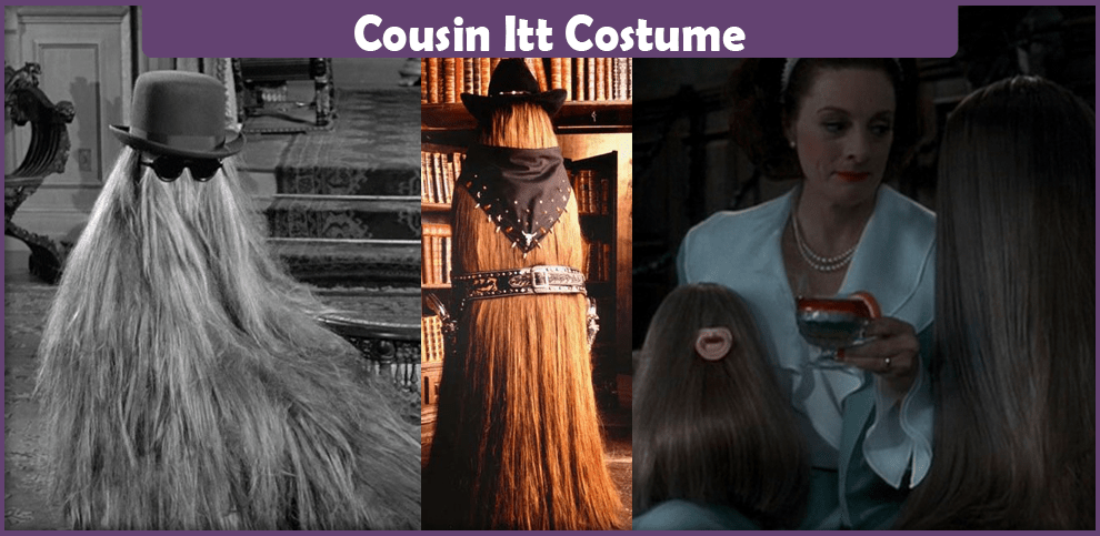 Fester Addams Cousin Itt Costume - A Diy Guide - Cosplay Savvy