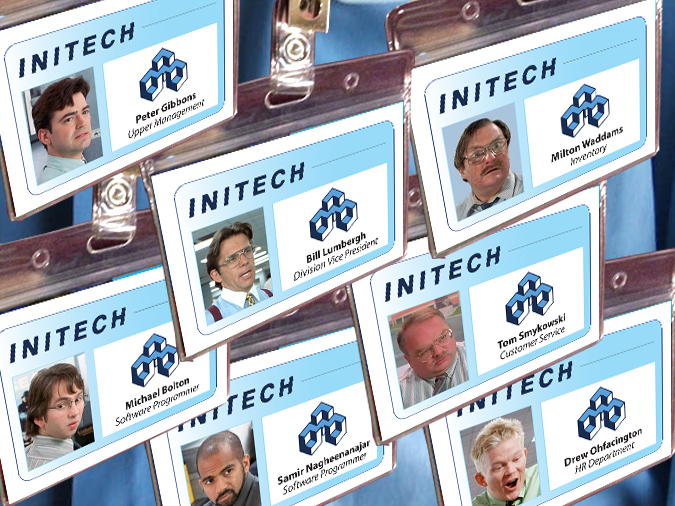 Office Name Badges  Personalized Engraved Employee Office