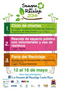 semana reciclaje 2014