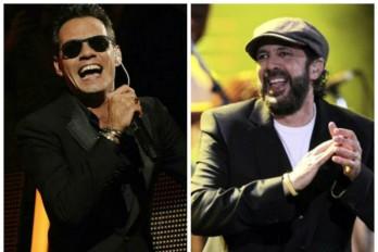 Marc Anthony y Juan Luis Guerra harán gira: Diciembre en Costa Rica