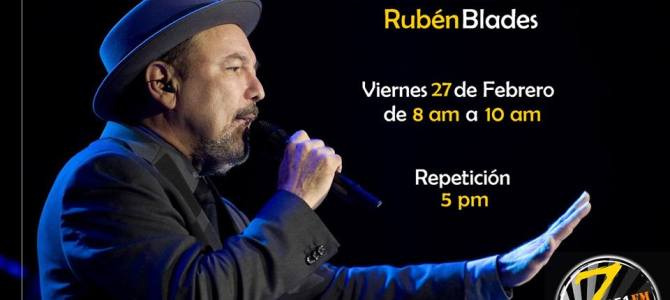 Especial de Ruben Blades por Zeta FM de Costa Rica