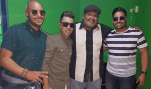 Bladimir Enriquez y el trío puertorriqueño