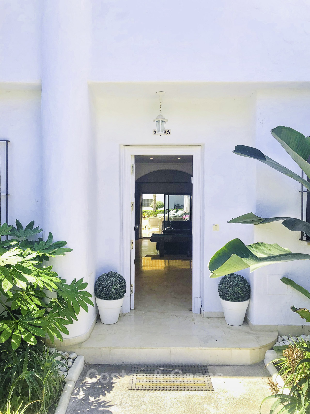 Marvellous Frontline Beach Townhouse For Sale Golden Mile Marbella