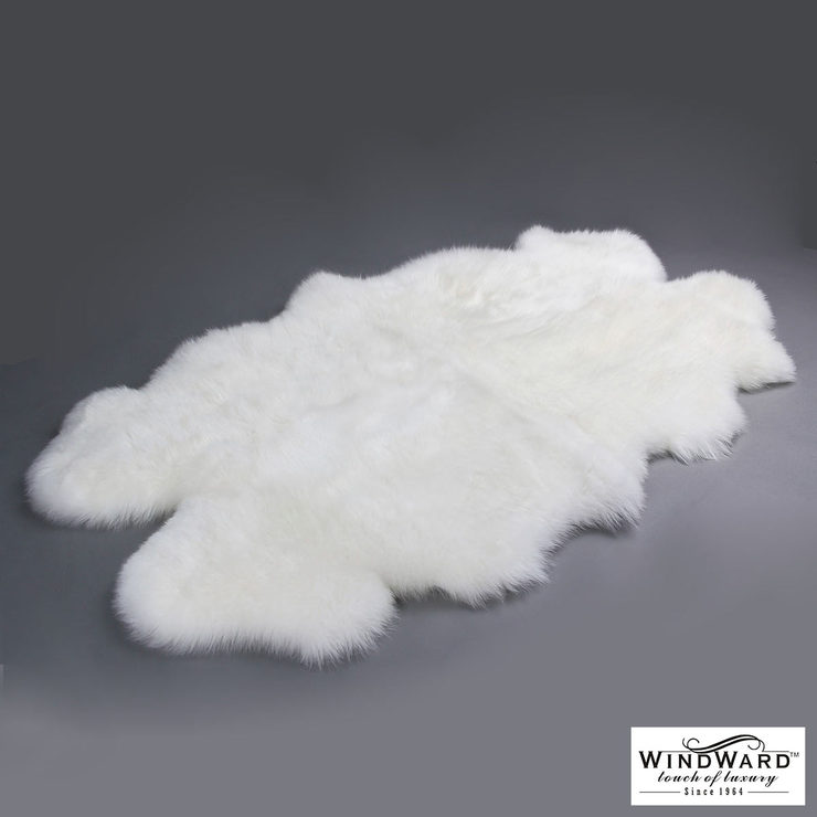 Costco Sheepskin Rug Windward 100% Sheepskin Quad Rug , Ivory | Costco Uk