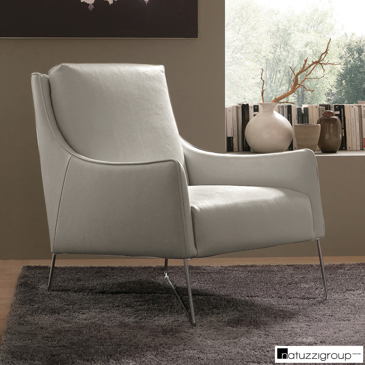 Accent Chairs At Costco Natuzzi Light Grey Top Grain Leather Accent Chair Costco Uk