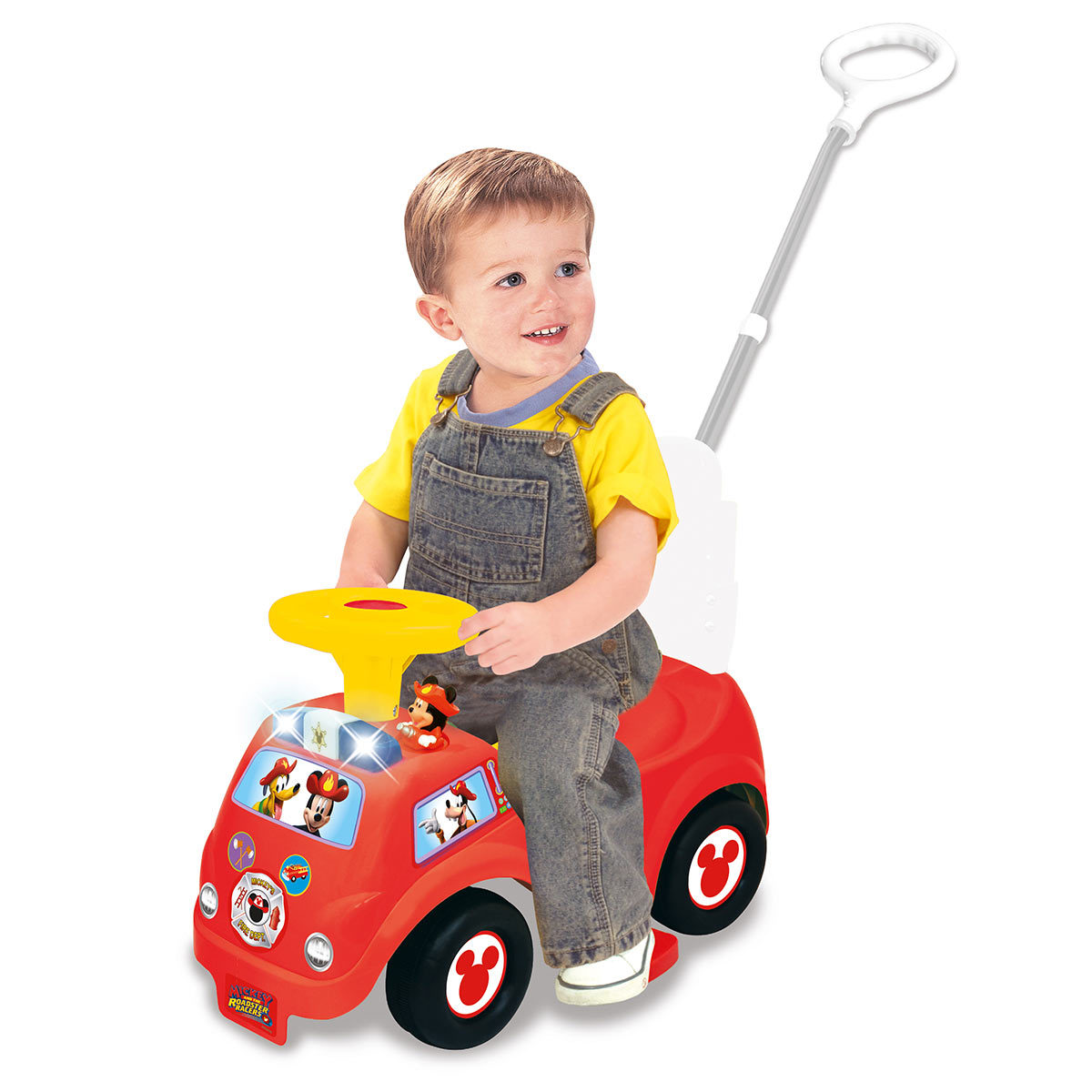 Toddler Car Dashboard Details About Mickey Mouse Children S Ride On Car Push Along Light And Sound Kids Ride On Toy