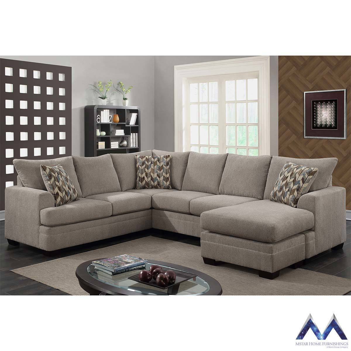 Accent Chairs At Costco Fiona 3 Piece Sectional Sofa With 3 Accent Pillows Costco Uk