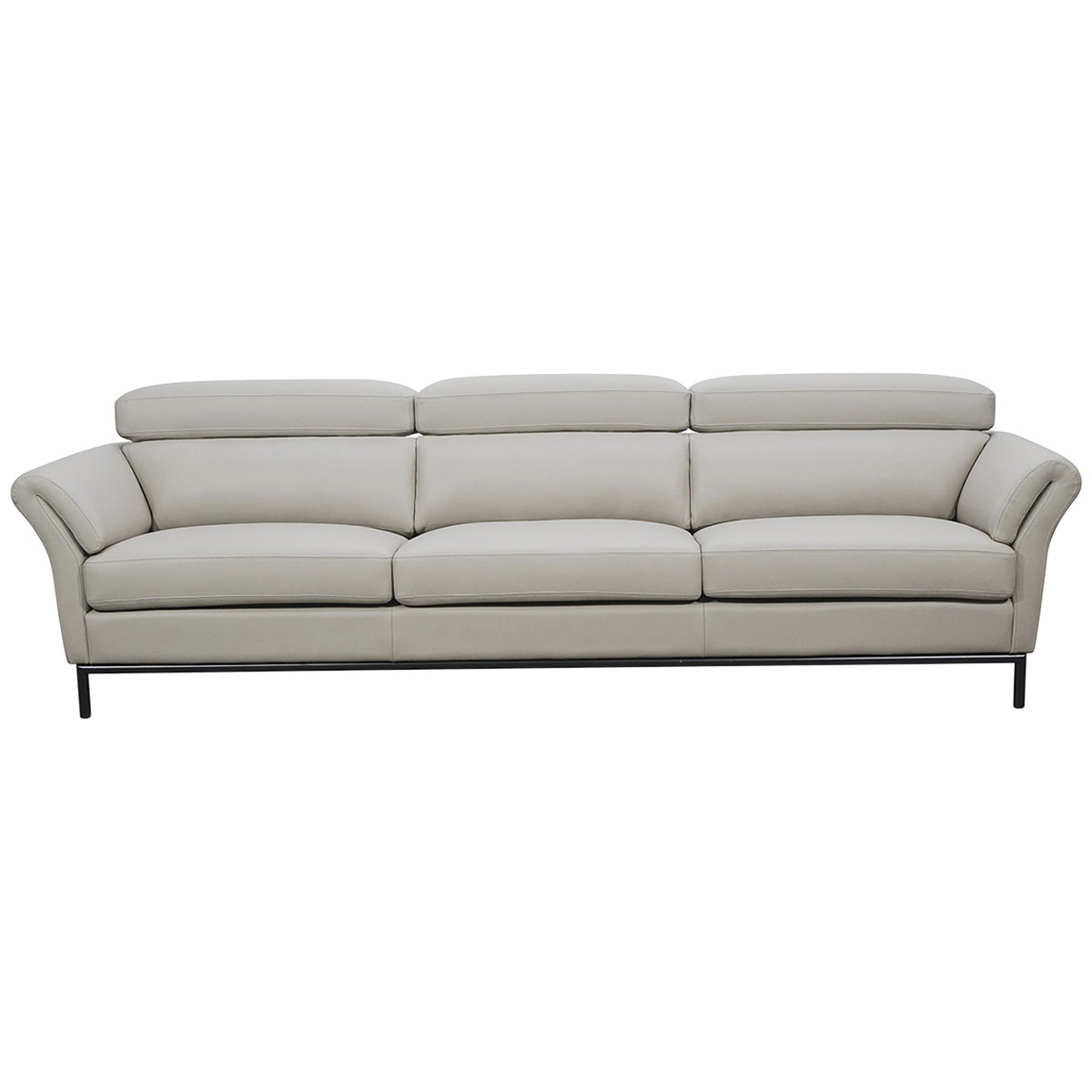 Moran Vancouver 3 Seater Leather Sofa Costco Australia
