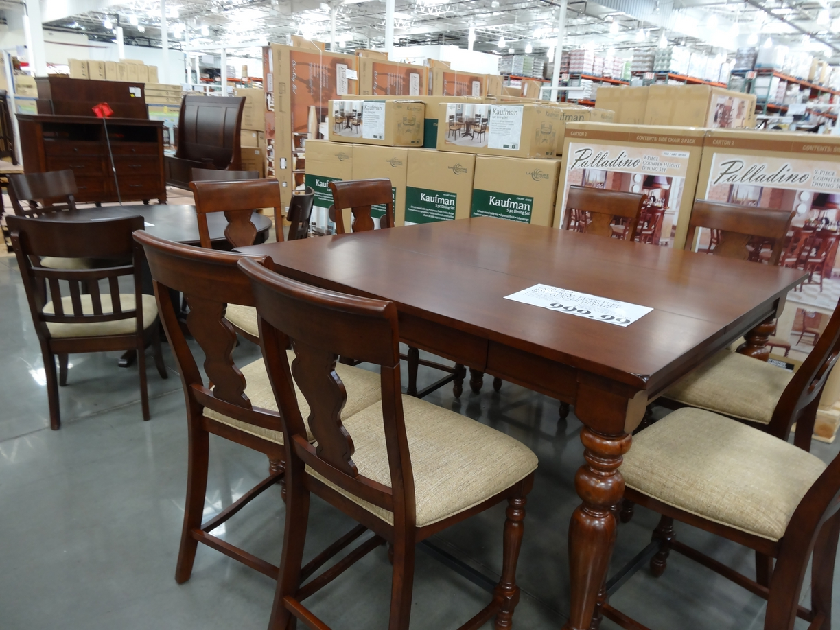 Costco Dining Set January Is Furniture Month At Costco