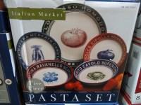 Certified International 5-Piece Ceramic Pasta Bowl Set