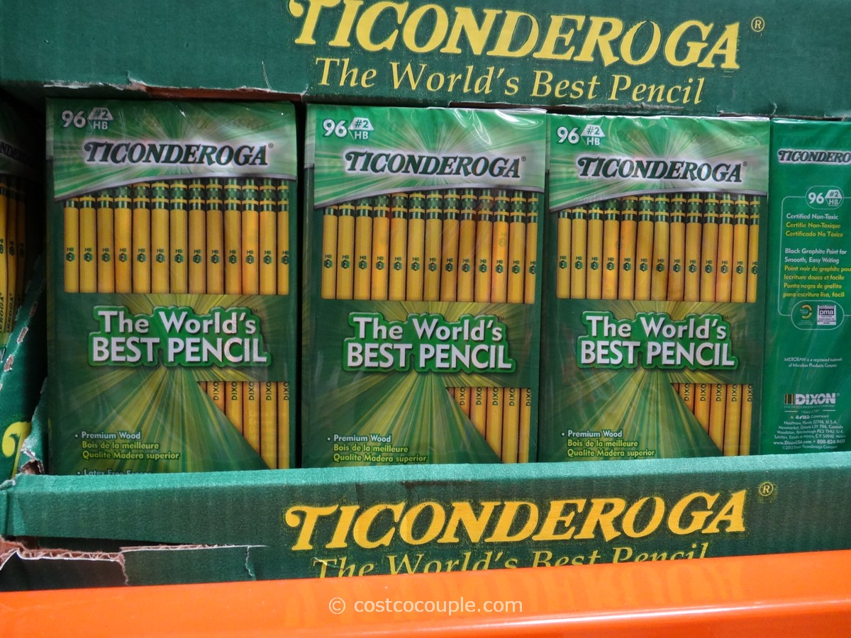 Sofa Back Dixon Ticonderoga No 2 Pencils