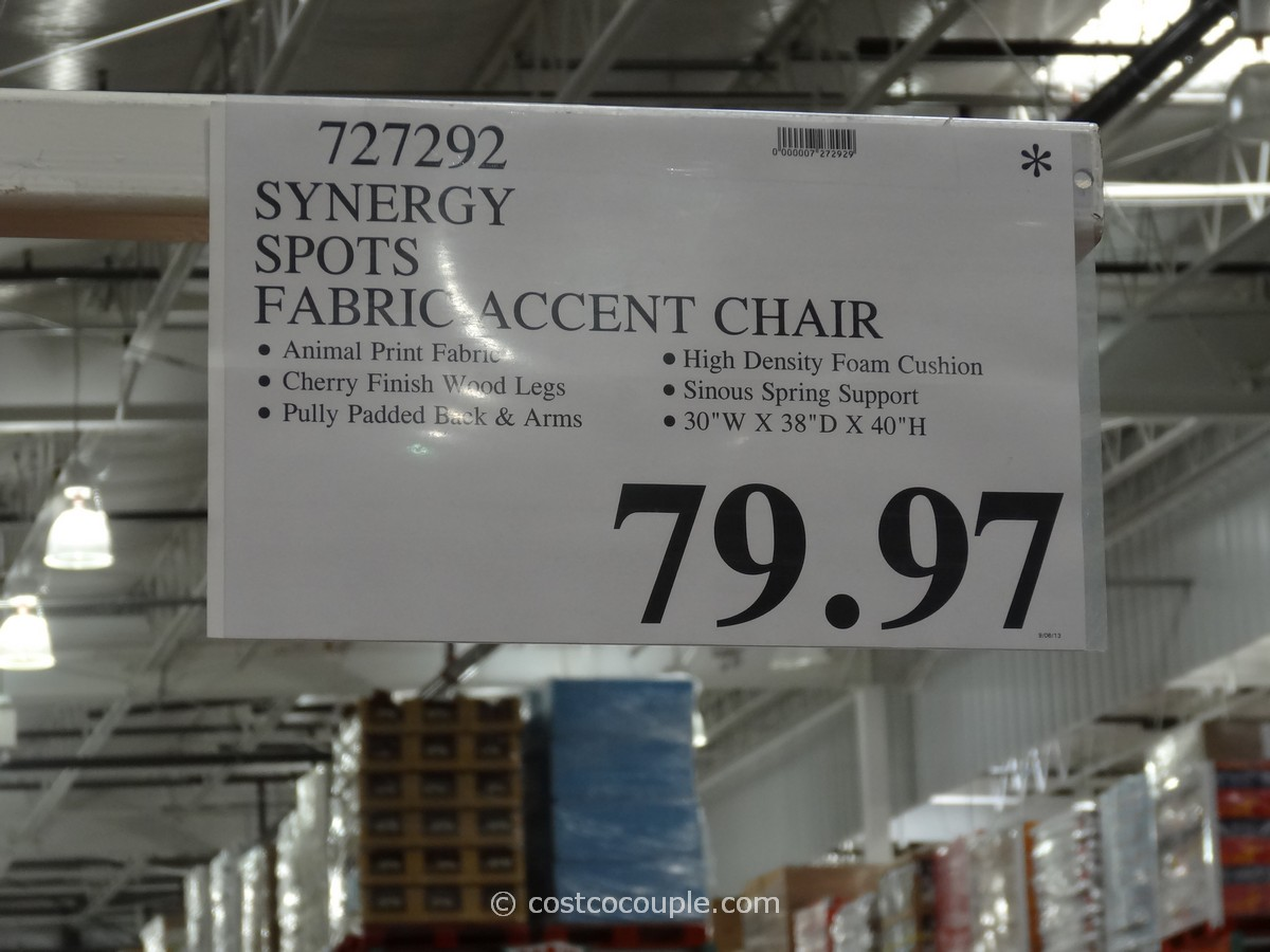 Accent Chairs At Costco Synergy Spots Accent Chair