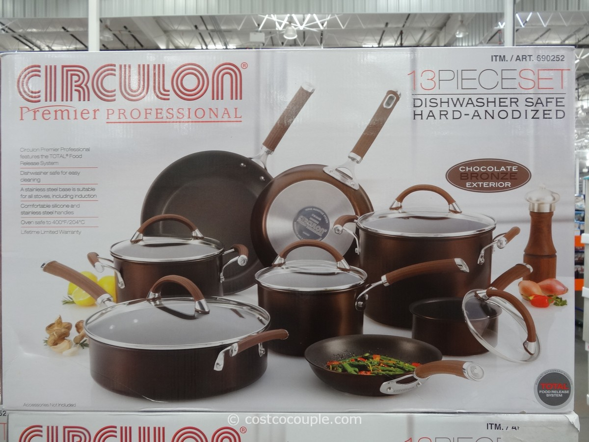 Circulon 13 Piece Hard Anodized Cookware Set