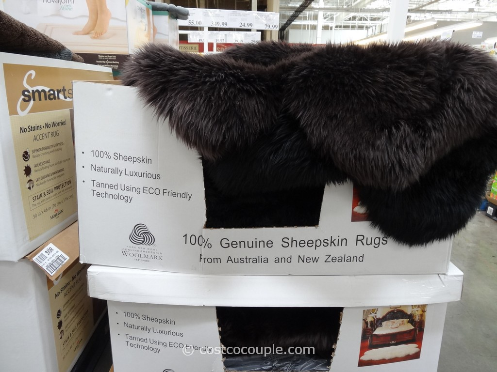 Costco Sheepskin Rug Quad Genuine Sheepskin Area Rug