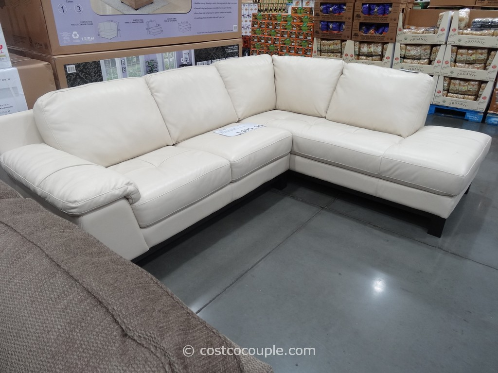 Costco Online Canada Furniture Htl Manhattan Leather Sectional