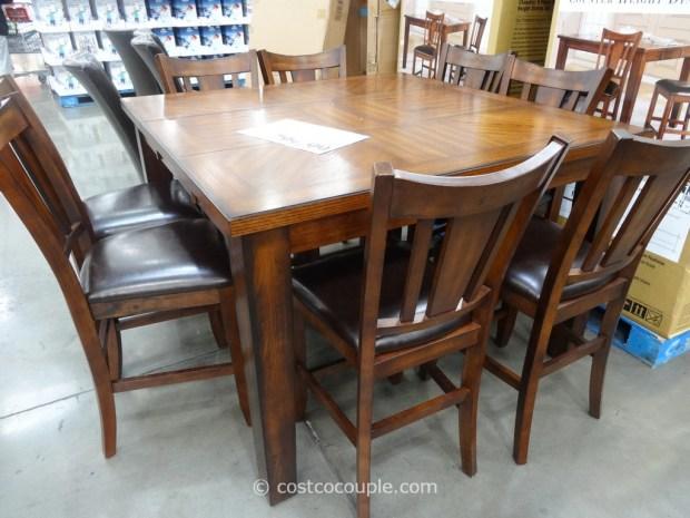 regal living chandler 9-piece counter 9 piece height dining set