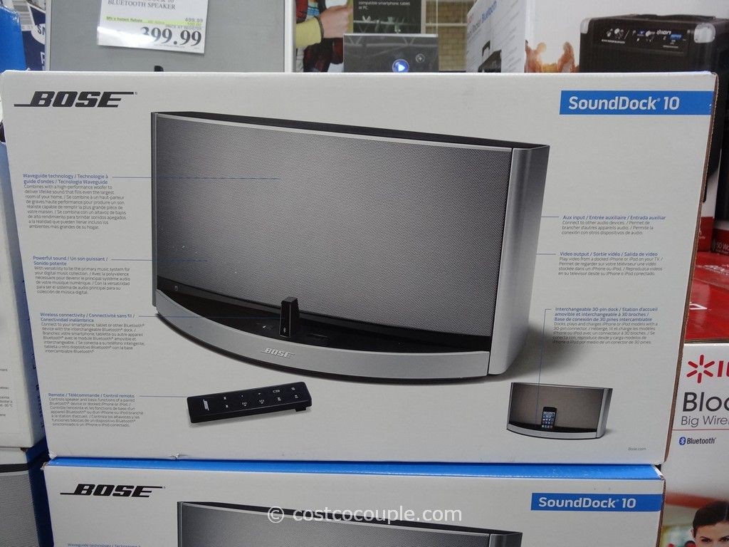 Sofa Cord Bose Soundock 10 Bluetooth Speaker