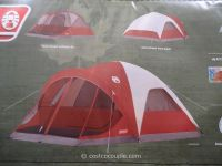 Coleman Screened 4 Person Evanston Tent