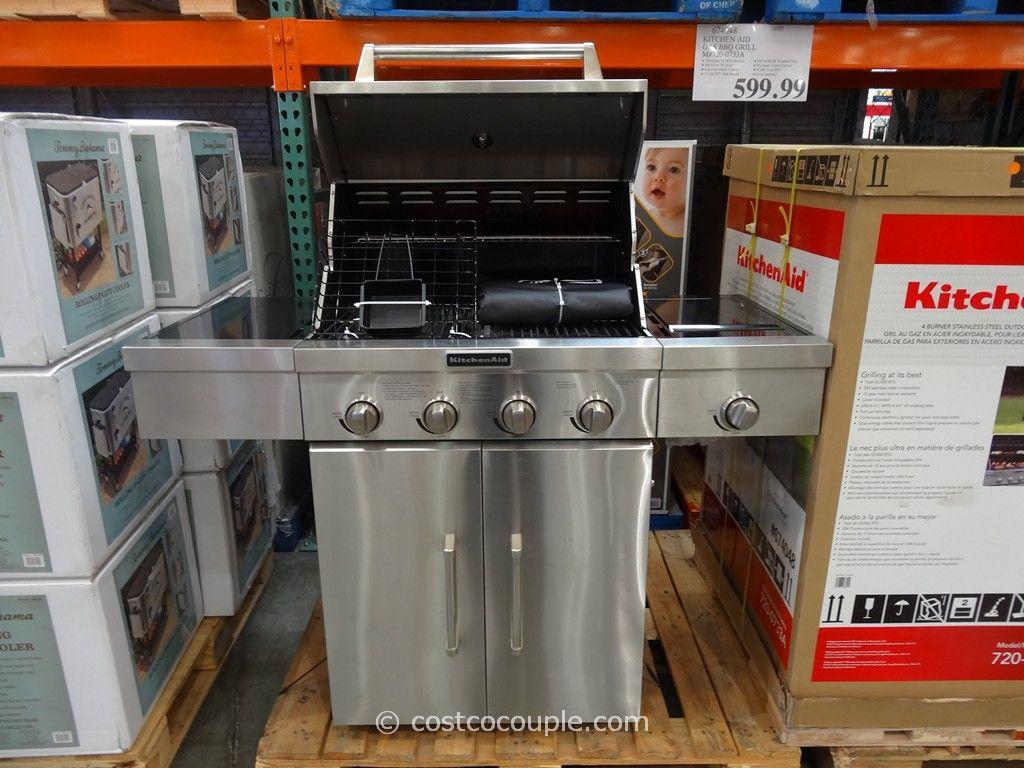 Kitchenaid 4 Burner Built In Gas Grill