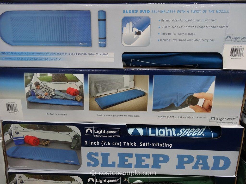 Lightspeed self inflating foam sleeping pad costco 4