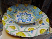 Laurie Gates Melamine Dinnerware Set & Get Quotations