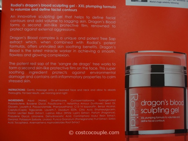 Sofa Fabric Name Rodial Dragon's Blood Sculpting Gel
