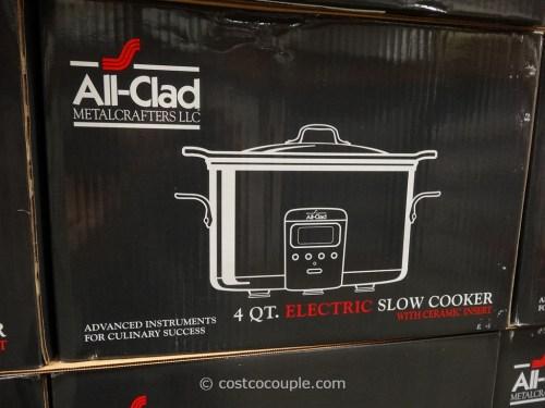 Stupendous All Clad 4 Quart Stainless Steel Slow Cooker Costco 3 All Clad Slow Cooker Serie Sc01 All Clad Slow Cooker 4 Qt