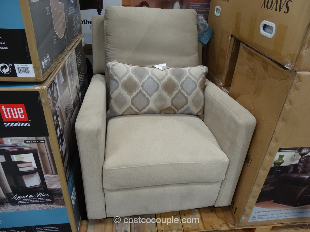 Accent Chairs At Costco True Innovations Elva Glider Swivel Recliner