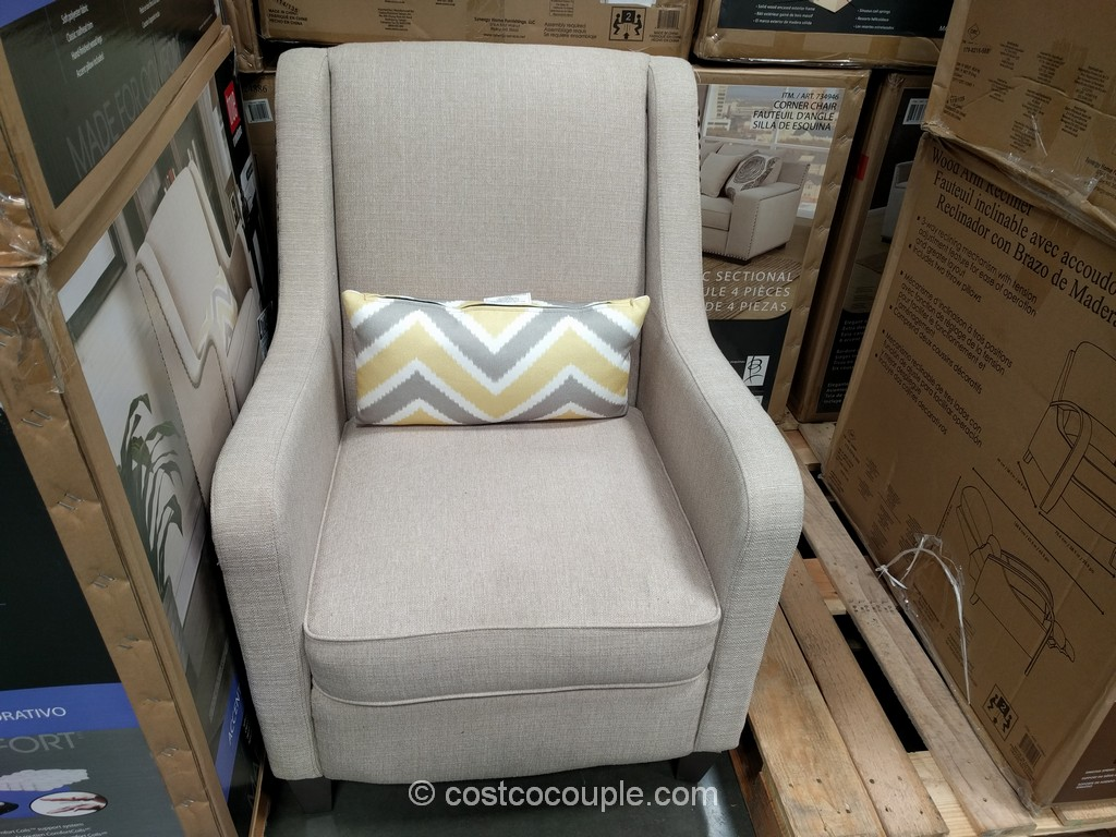 Accent Chairs At Costco True Innovations Fabric Accent Chair