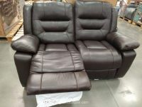 Pulaski Leather Reclining Loveseat