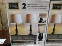 J Hunt Home Table Lamp Set