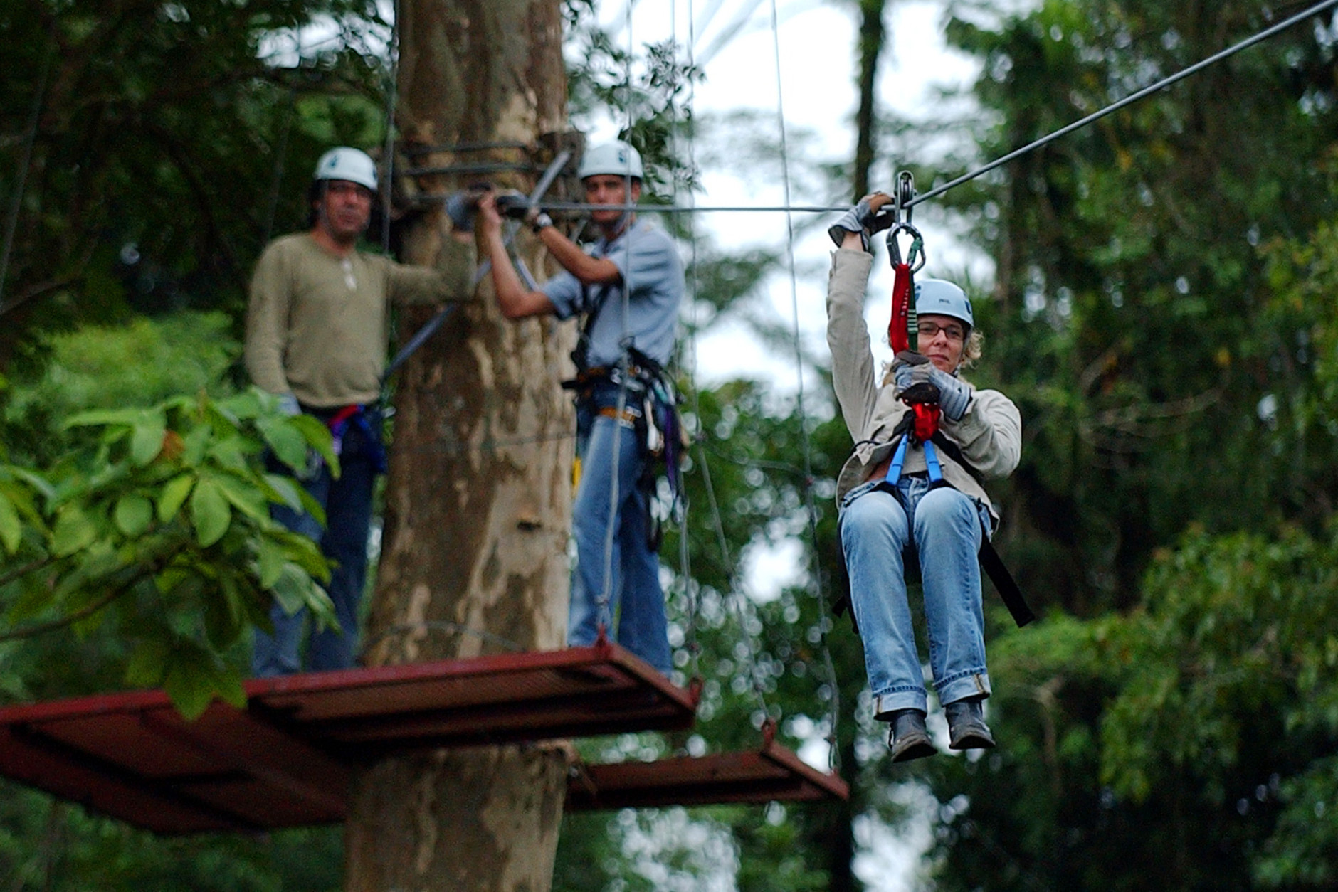 Canopy Tour, Playa del Coco