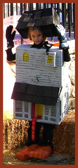 Toddler With Baby Homemade Monster House Costume Homemade Halloween Costumes